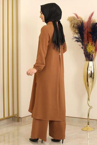 Aerobin Nergis Takım Kahve - Fashion Showcase Design - FSC2069 - Thumbnail