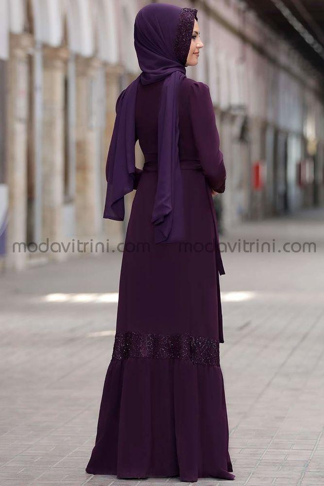 Buket Elbise Mürdüm - SRT1016