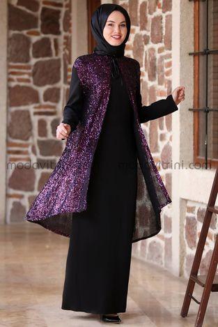 00b4ff6e94b26 MDV Collection - Efsane Pul Payet Abiye Mürdüm - MDV5000