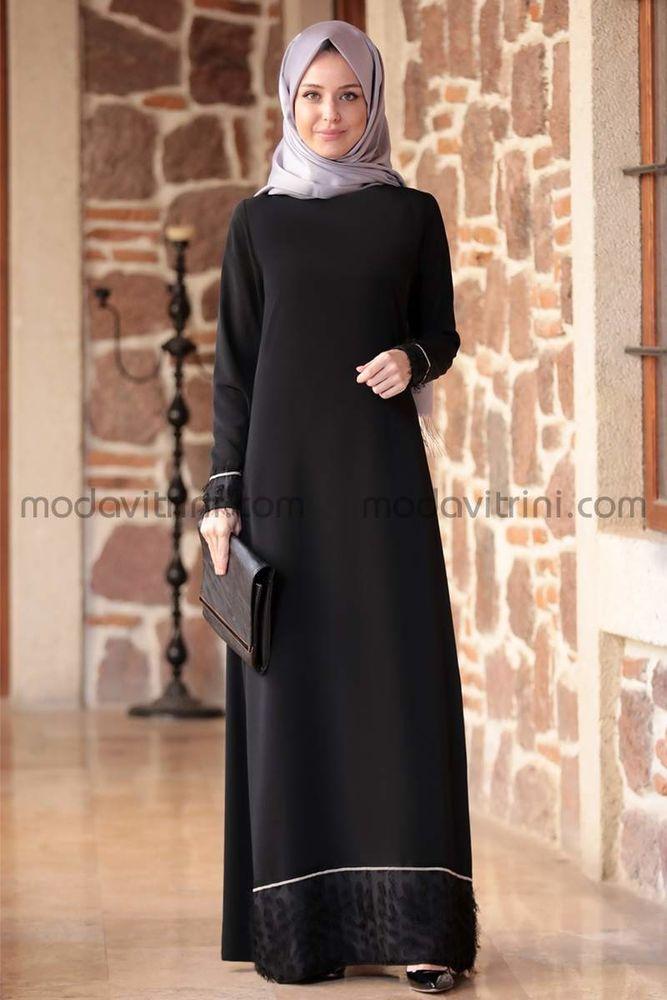 Günay Elbise Siyah - EMS1044