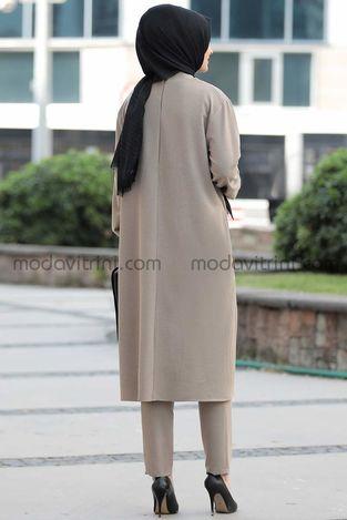 Lady İkili Takım Vizon - PNN1027 - Thumbnail