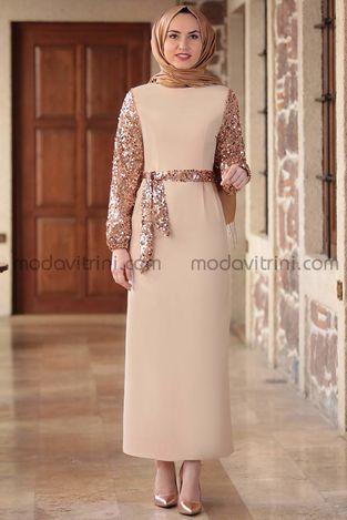 Lal Elbise Bej - EMS1050 - Thumbnail