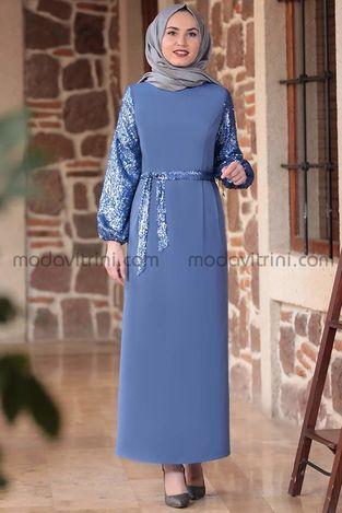 Lal Elbise İndigo - EMS1050 - Thumbnail