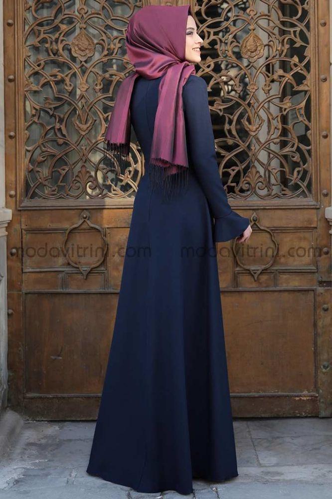 Lara Elbise Siyah - ALM2001