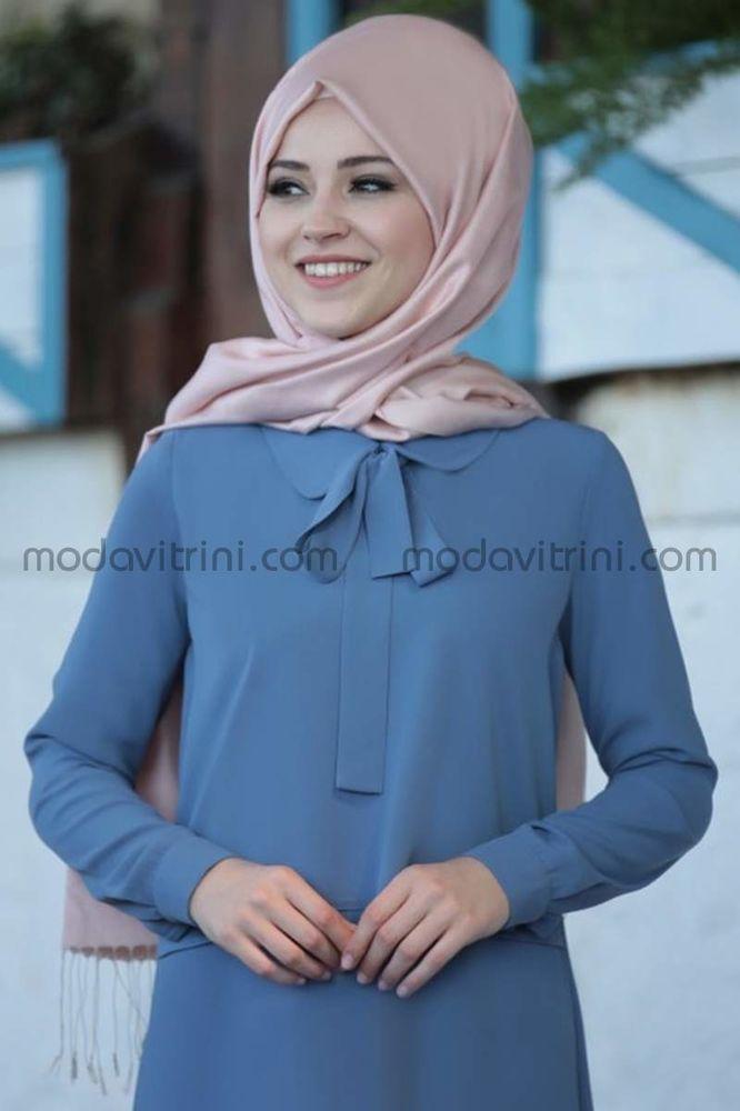 Mina Tunik İndigo - Al-Marah