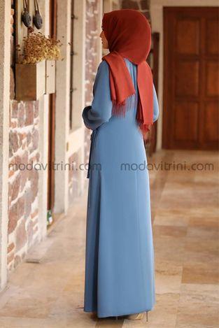 Narin Balon Kol Ferace İndigo - MDV2018 - Thumbnail