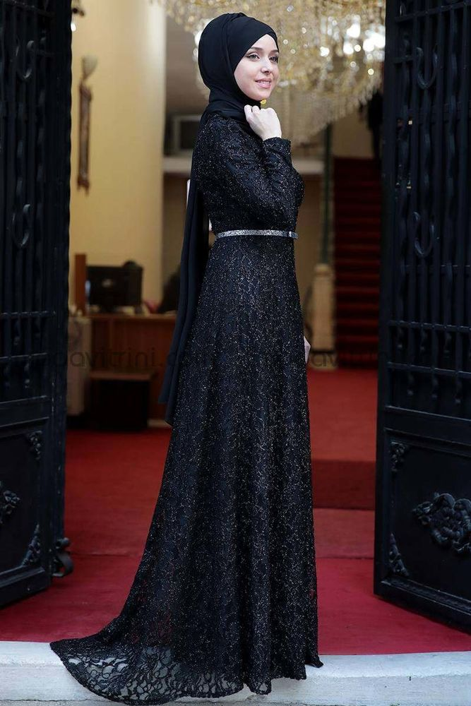 Parıltı Abiye Siyah - Fashion Showcase