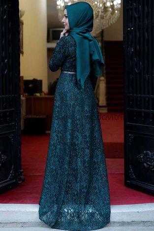 Parıltı Abiye Zümrüt - Fashion Showcase - Thumbnail
