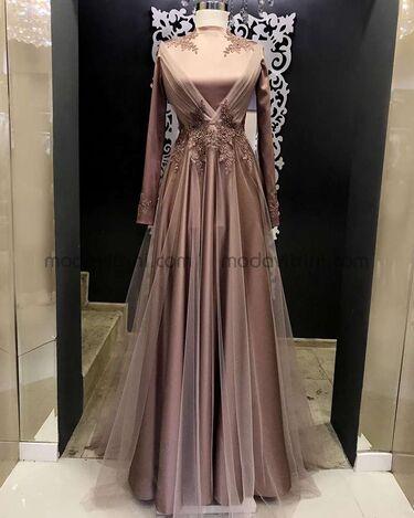 Prenses Abiye Gül Kurusu - GMZ1067 - Thumbnail