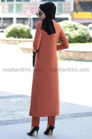 Rabia İkili Takım Kiremit - PNN1014 - Thumbnail