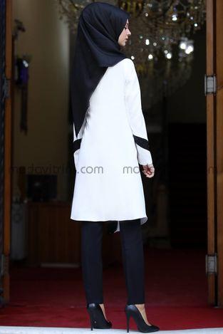 Rana İkili Takım Ekru - MDV1022 - Thumbnail