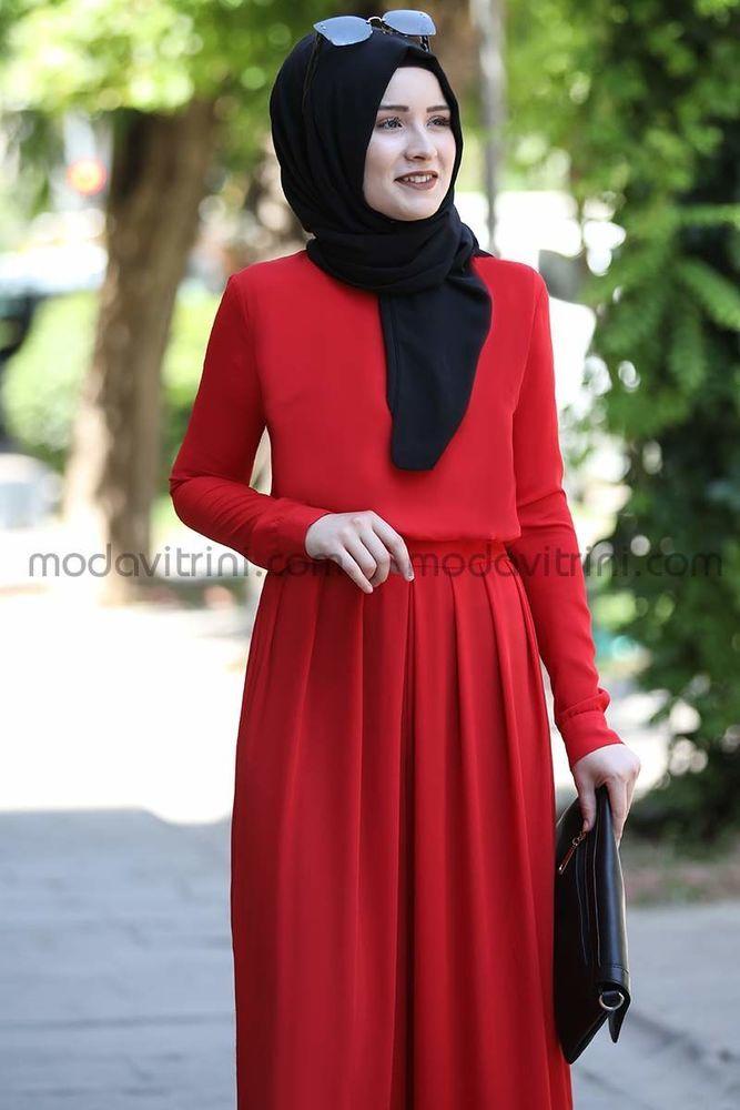 Rana Zen Zara Tulum Kırmızı