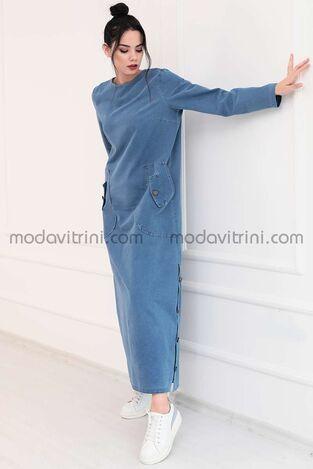 Rengin Kot Elbise - PNN1035 - Thumbnail