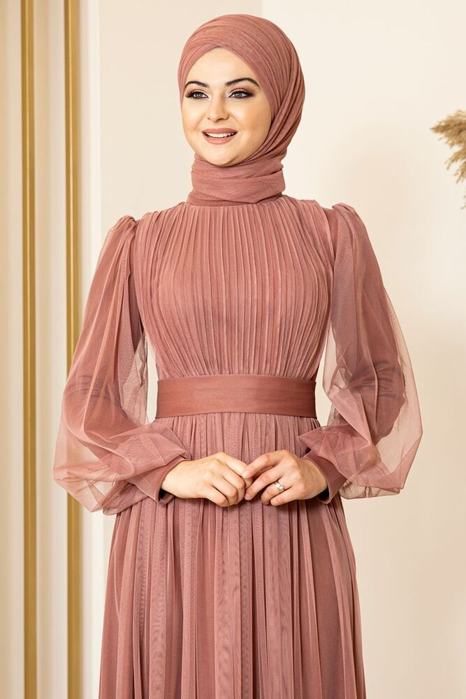 Sükse Abiye Soğan Kabuğu - Fashion Showcase Design - FSC2079