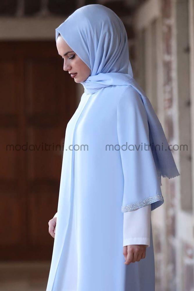 Taş Detay İkili Takım Mavi - MDV2020