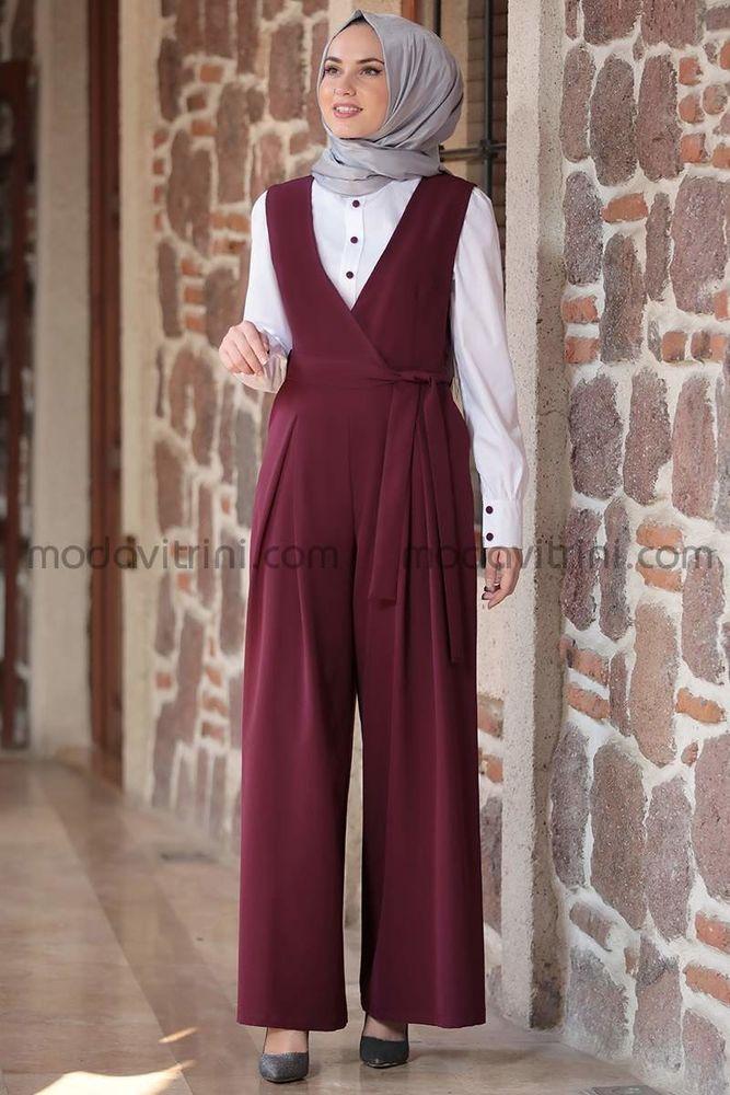 Tulum & Gömlek Takım Mor - MDV5020