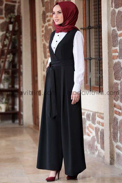 Tulum & Gömlek Takım Siyah - MDV5020