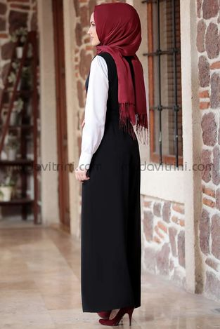 Tulum & Gömlek Takım Siyah - MDV5020 - Thumbnail