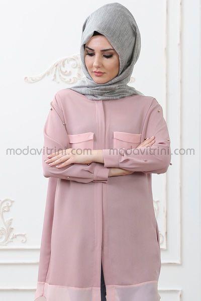 cebd63d2a7c tunic - Dress - Powder Color - SMF1010